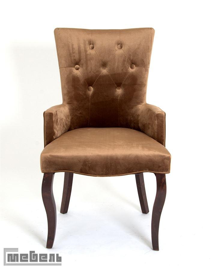 Кресло Виктория (тёмный тон/6-шоколад)