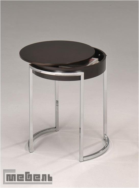 """Кофейный столик """"0559 W"""" (Тёмный орех)"""