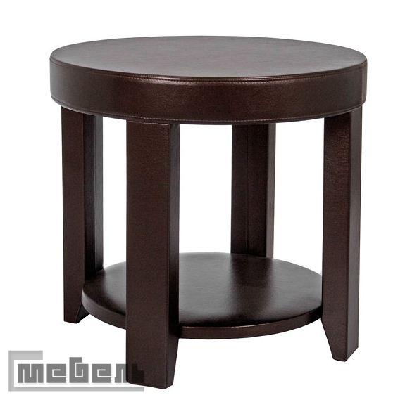 """Журнальный стол """"Dondolo"""" круглый (Oregon Perlam 120) Темно-коричневый"""