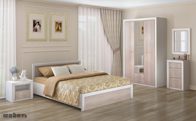 "Спальня ""Мальта"" (модульная) - Комплектация №4"