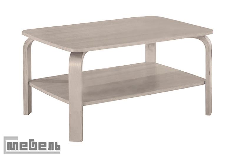 Журнальный стол ламино (гнутая нога)