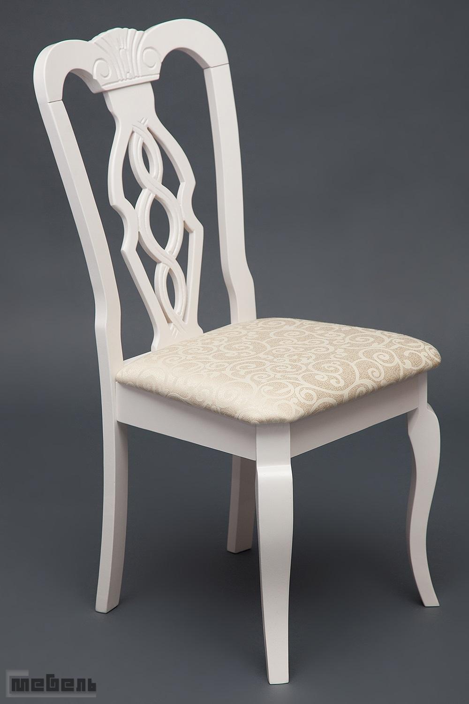 """Стул с мягким сиденьем """"Афродита"""" (Afrodite) Белый"""