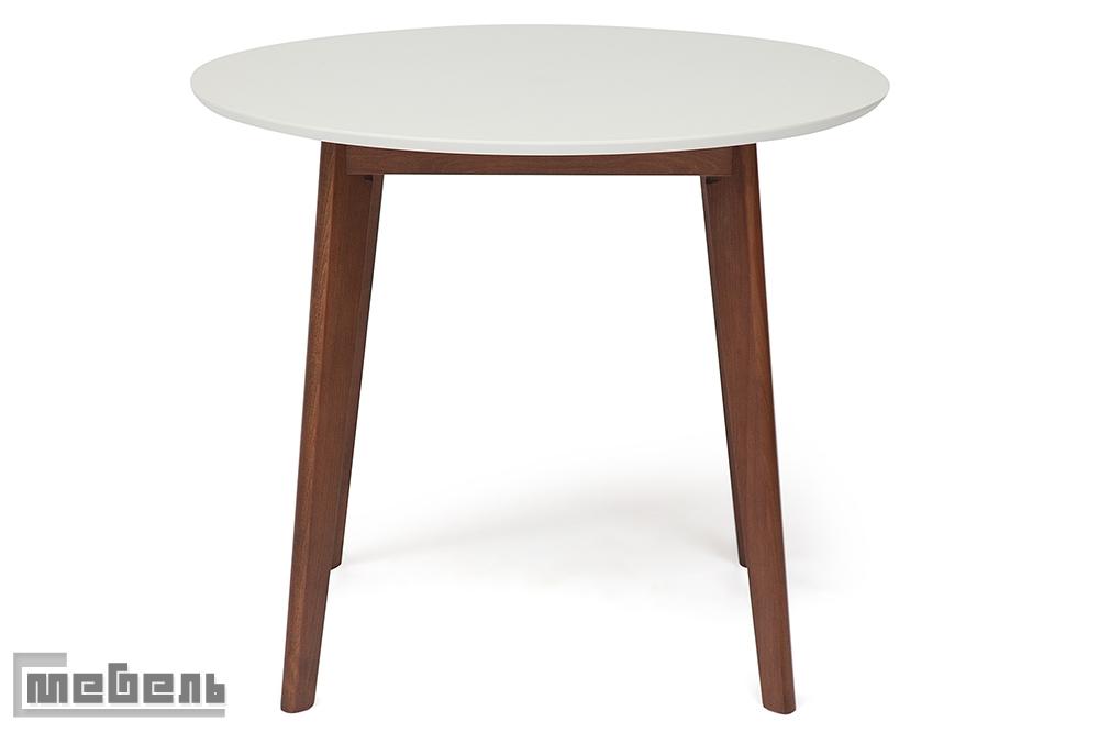 """Стол обеденный """"Bosco"""" цвет: Белый+Коричневый"""