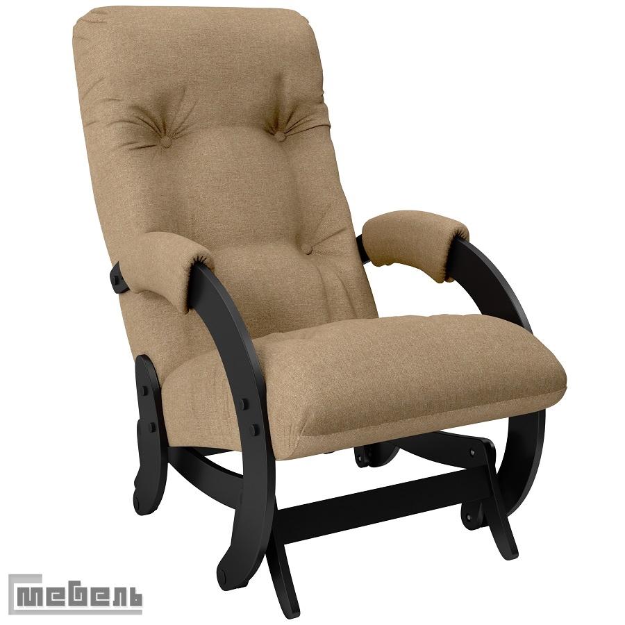 """Кресло-качалка глайдер модель 68 ткань рогожка: """"Montana 904"""""""