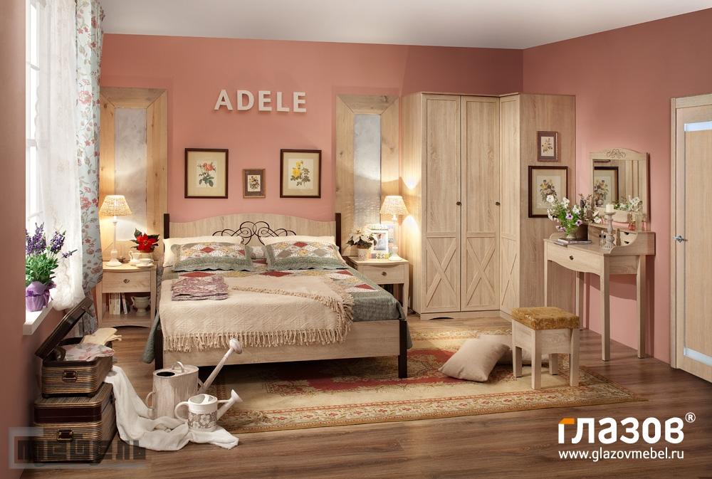 """Спальня """"ADELE"""" (модульная) - Комплектация № 3"""