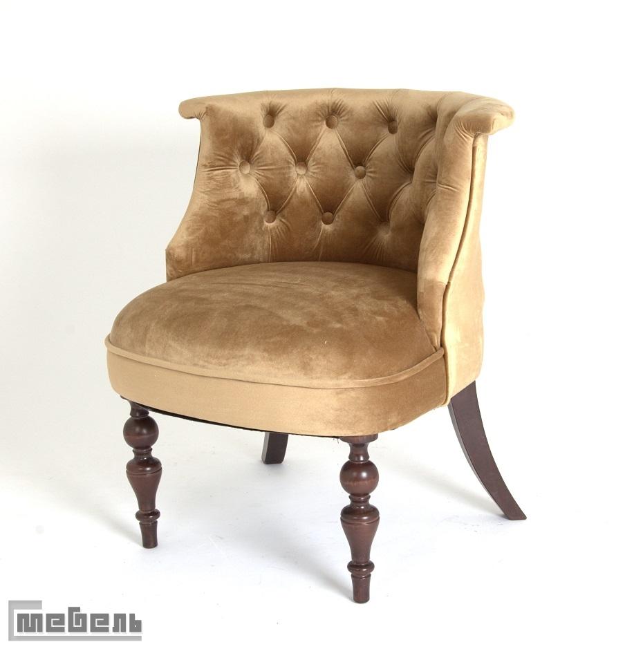 Кресло Бархат (тёмный тон/5-золото)
