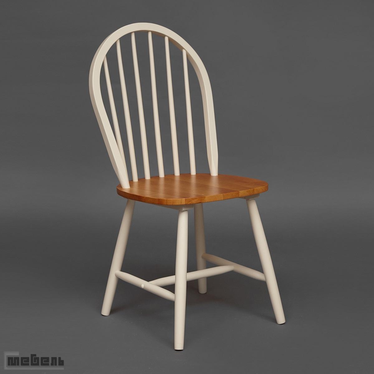 "Стул ""AVERY"" (модель 1101) цвет: Rustic oak/ivory white"