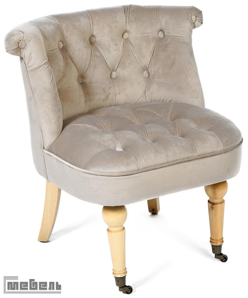 """Кресло """"Банни"""" (Bunny) модель C102, ткань """"Светло-серый"""""""