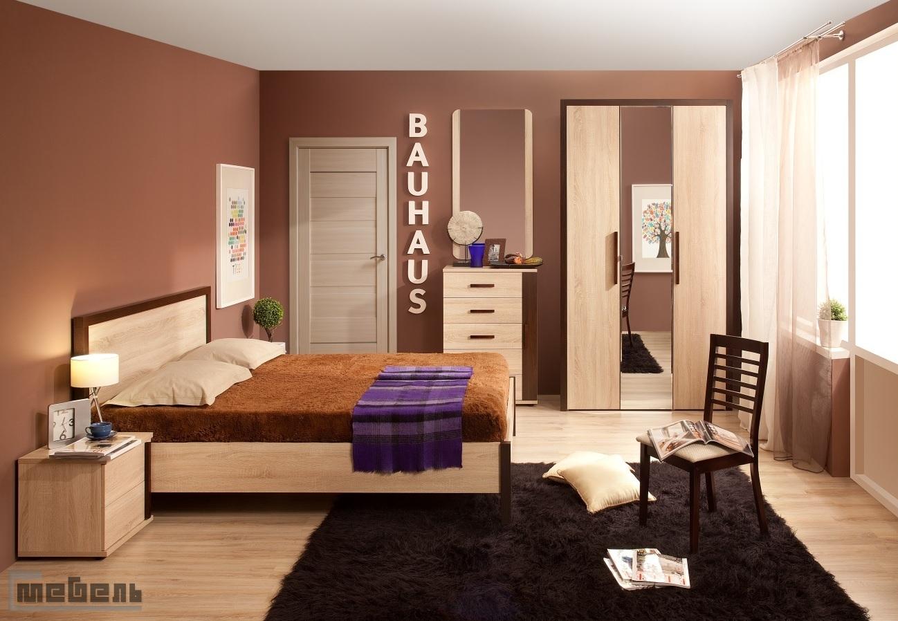 """Спальня """"BAUHAUS"""" (Баухаус) модульная - Комплектация №1"""