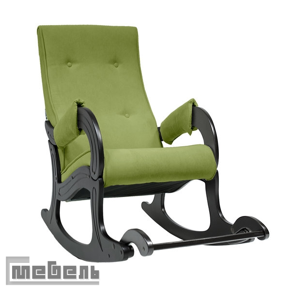 Кресло-качалка, модель 707, Ткань Verona appaleGreen