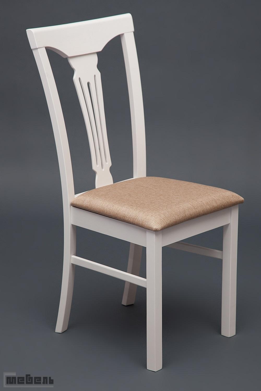 """Стул с мягким сиденьем """"Гермес"""" (Hermes) Белый"""