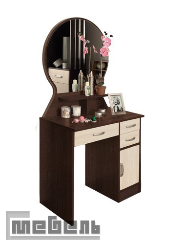 """Туалетный стол с зеркалом """"Надежда М-04"""""""