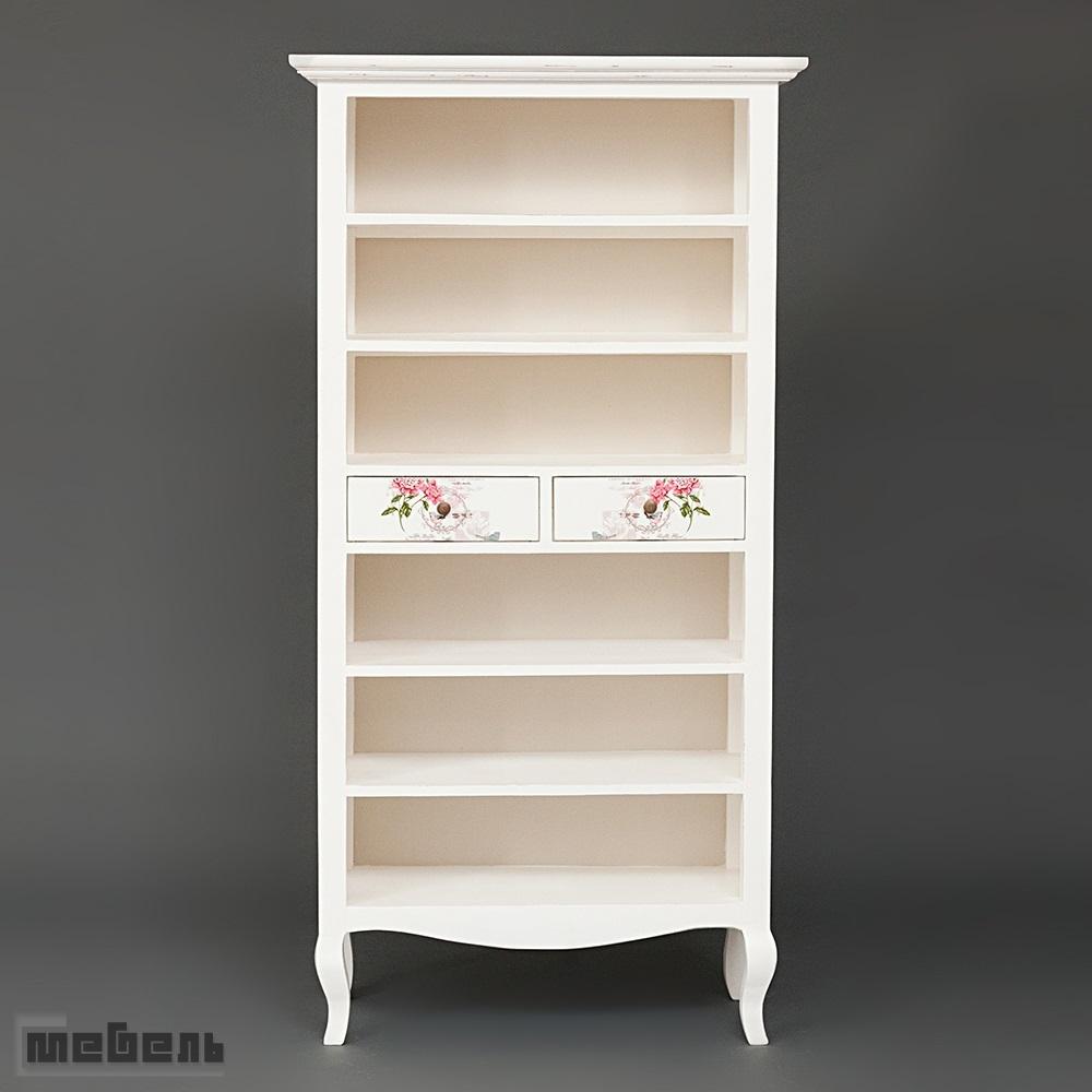 """Книжный шкаф """"Fleurimont"""" (модель MUR95) Слоновая кость"""