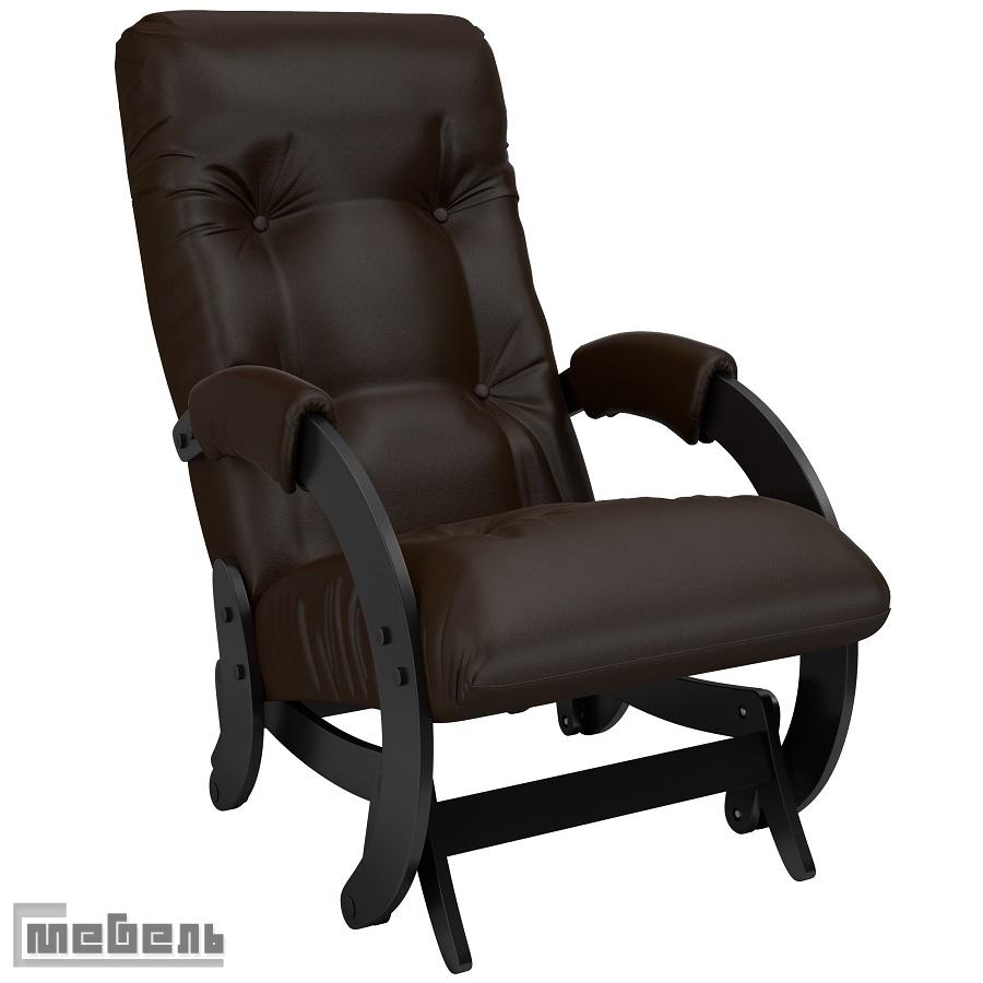 """Кресло-качалка глайдер модель 68 экокожа: """"Oregon perlamutr 120"""""""