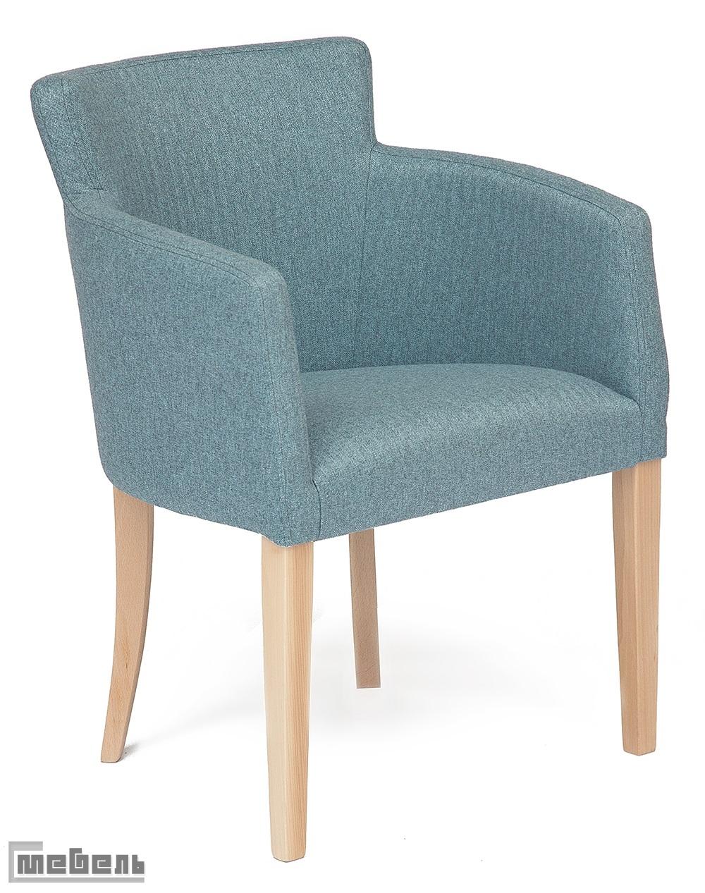 """Кресло """"Круна"""" (Kruna) ткань: (Синий кварц)"""
