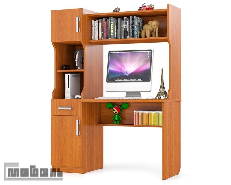 Письменный стол с надстройкой МД 1.02