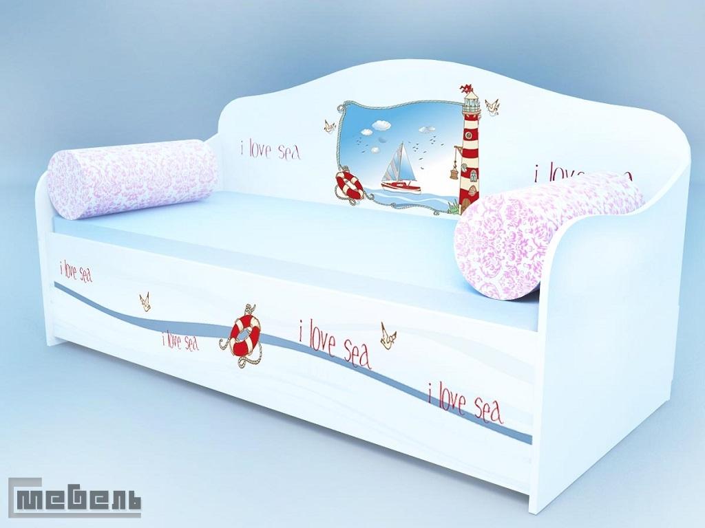 Диван - кровать морской