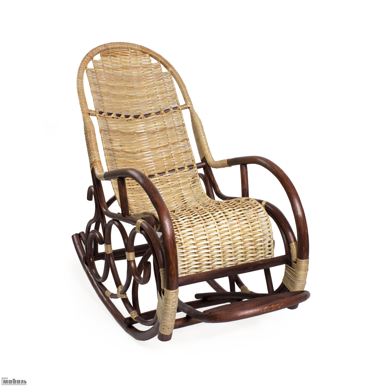 Кресло-качалка плетёное Ведуга (019.002)